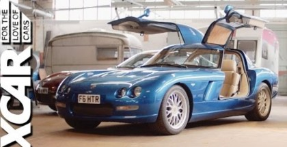 1012HP Gullwinged Bristol Fighter with Viper V10 powertrain