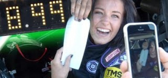 18 Year Old Girl 8-SECOND Pass in Twin Turbo 1969 Camaro – Video