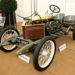 1905 Darracq Land speed record car with 200HP drifting (2)