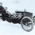 1905 Darracq Land speed record car with 200HP drifting (6)