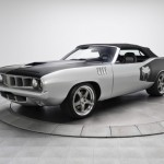 1971 Plymouth Cuda  with a Viper Chassis and V10 Engine (1)