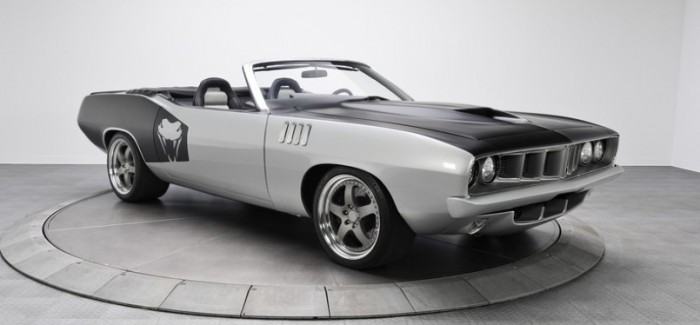 1971 Plymouth Cuda  with a Viper Chassis and V10 Engine – Video