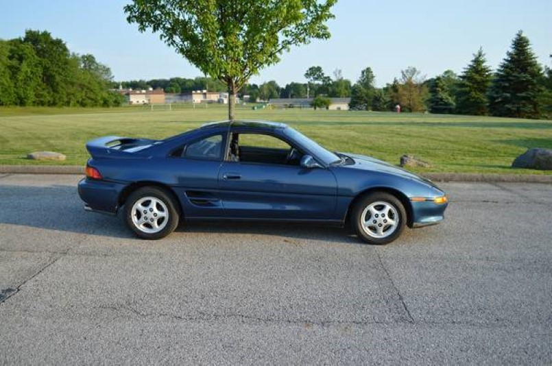 1991 Toyota Mr2 Turbo With Only 12k Miles