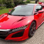 2 New Red Acura NSX's Have Been Caught On Camera In Public Street (1)