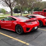 2 New Red Acura NSX's Have Been Caught On Camera In Public Street (2)