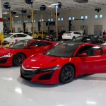 2 New Red Acura NSX's Have Been Caught On Camera In Public Street (3)