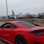 2 New Red Acura NSX's Have Been Caught On Camera In Public Street (4)