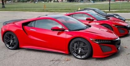 2 New Red Acura NSX's Have Been Caught On Camera In Public Street (5)