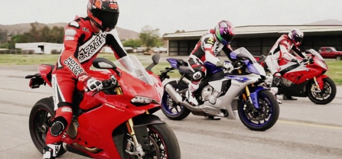 2015 Superbike drag race – Video