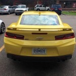 2016 Chevrolet Camaro SS Spotted In Detroit (2)
