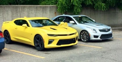2016 Chevrolet Camaro SS Spotted In Detroit (3)