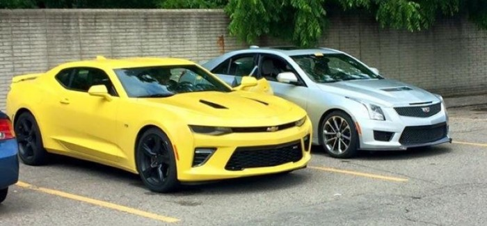 2016 Chevrolet Camaro SS Spotted In Detroit