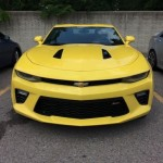 2016 Chevrolet Camaro SS Spotted In Detroit (4)