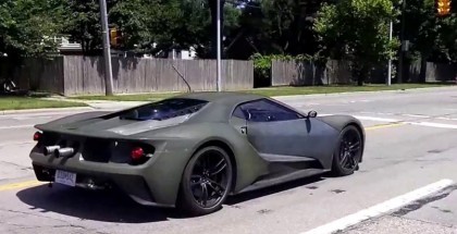 2016 Ford GT Driving on Public Road