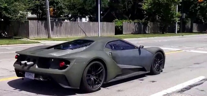 2016 Ford GT Driving on Public Road – Video