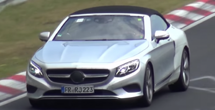 2016 Mercedes-Benz S-Class Cabriolet Testing Spy - Video