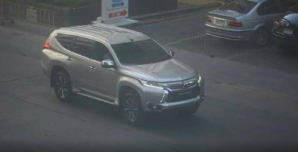 2016 Mitsubishi Pajero Sport caught without any cover (1)