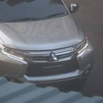 2016 Mitsubishi Pajero Sport caught without any cover (2)
