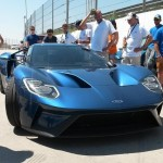 2017 Ford GT prototype fails to start in Spain (2)