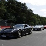 40 Ferrari F12 Berlinettas gathered together for a track day (2)