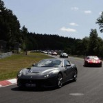 40 Ferrari F12 Berlinettas gathered together for a track day (3)