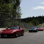 40 Ferrari F12 Berlinettas gathered together for a track day (4)