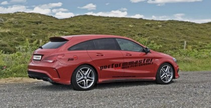 410HP Mercedes CLA 45 AMG Shooting Brake by performmaster (1)