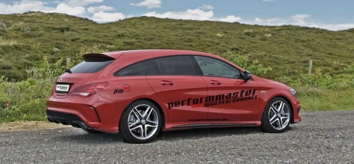 410HP Mercedes CLA 45 AMG Shooting Brake by performmaster