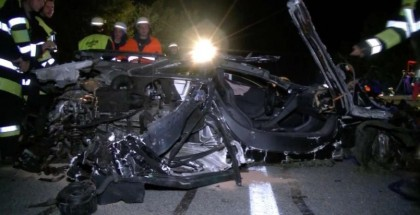 71 year old man crashes McLaren MP4-12C at 150mph (3)