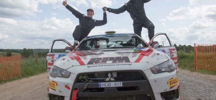 Amazing Rally Driving Skills by Alexey Lukyanuk  – Video