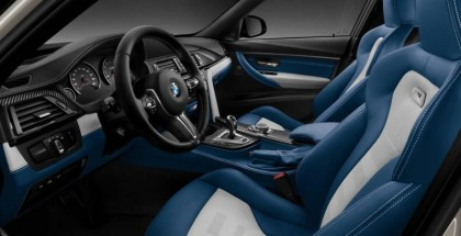 BMW M3 Individual with silver and blue interior (2)