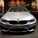 BMW M3 with bullet holes from Mission Impossible (1)