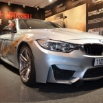 BMW M3 with bullet holes from Mission Impossible (2)