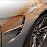 BMW M3 with bullet holes from Mission Impossible (4)