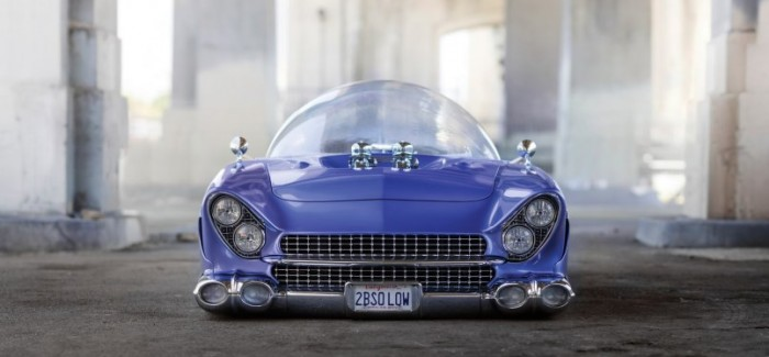 Beatnik Bubbletop 1955 Ford To Be Auctioned