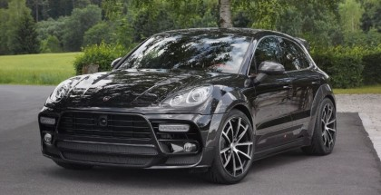 Black Porsche Macan by Mansory (9)