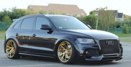 Blinged out Audi SQ5 Review