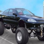 Cars That have no business being monster trucks (4)