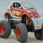 Cars That have no business being monster trucks (5)
