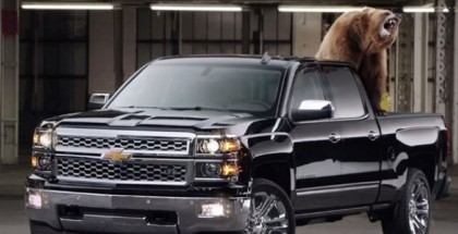 Chevy Used A Grizzly Bear To Show Their Truck Is Better (1)