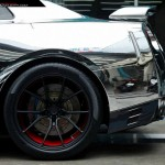 Chrome Wrapped Nissan GT-R by Prodrive (1)