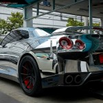 Chrome Wrapped Nissan GT-R by Prodrive (2)