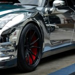 Chrome Wrapped Nissan GT-R by Prodrive (5)