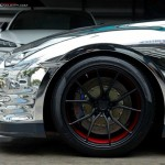 Chrome Wrapped Nissan GT-R by Prodrive (6)