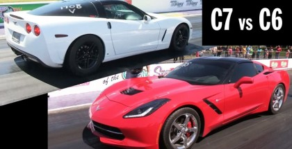 Corvette C6 Z06 vs C7 Stingray 60-190MPH