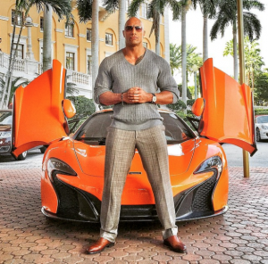 Dwayne Johnson cars from the series Baller (1)