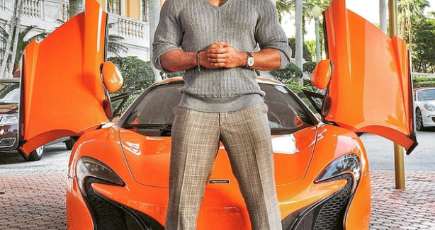 Dwayne Johnson cars from the series Baller – Video