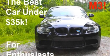 E92 BMW M3 Is the Best Car Under $35,000 according to Vehicle Virgins