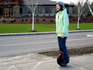 Electric Unicycle Bursts Into Flames (2)