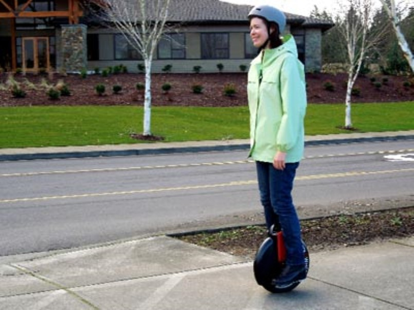 Electric Unicycle Bursts Into Flames Video Dpccars